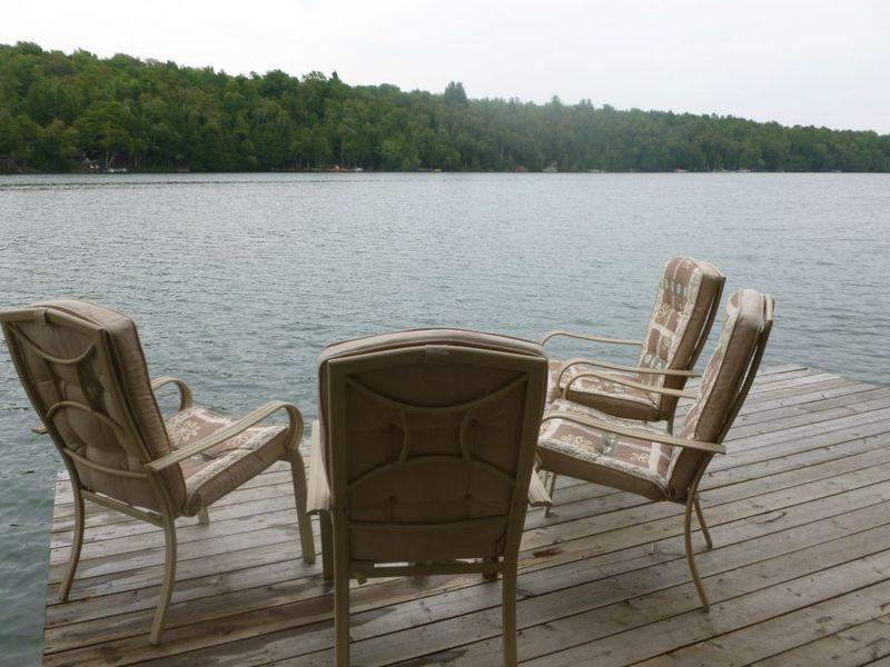 View from Dock  - Fully Updated Lakefront Cottage on Bruce Peninsula (Bass Lake) - Owen Sound - rentals