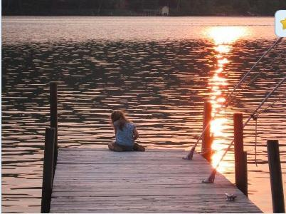 Beautiful sunsets every night - Lake Sunapee Waterfront Cottage - Newbury - rentals