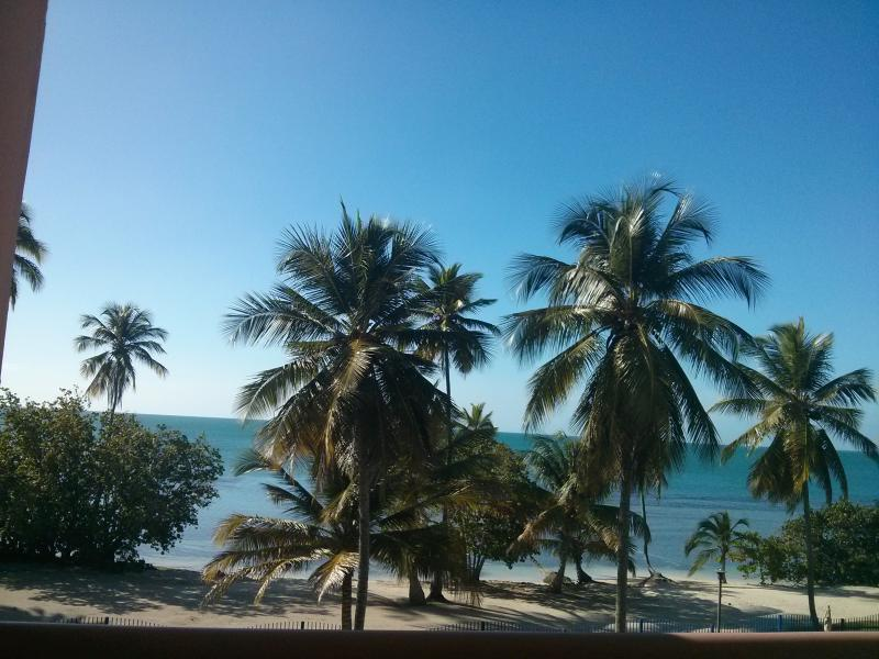 View from the Balcony - Beachfront 1 bedroom apartment with amazing view. - Cabo Rojo - rentals