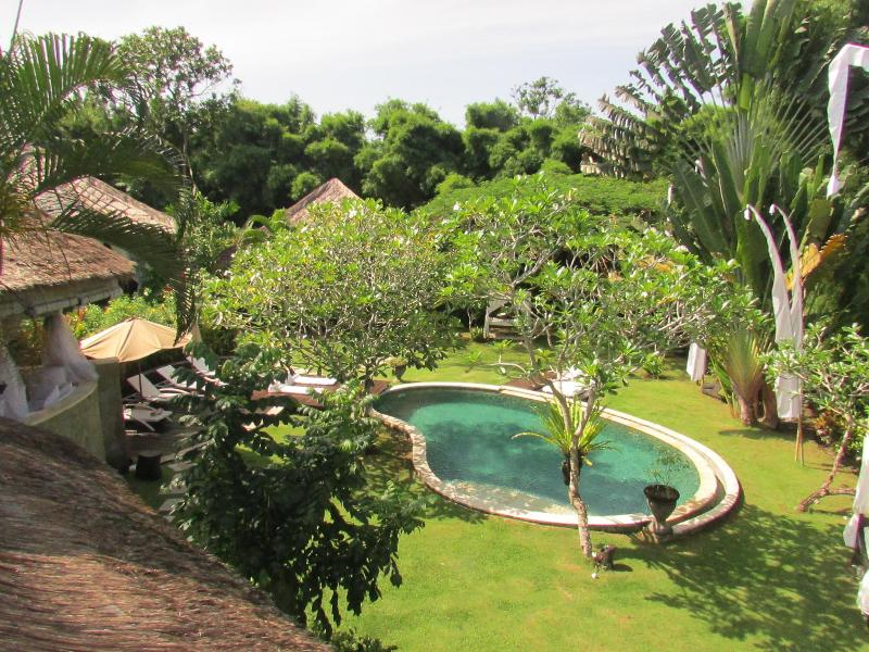 Pool/Garden Over-view  - Ki, luxury 5 bed villa,feature gardens,Nr Seminyak - Umalas - rentals