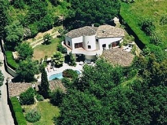 Villa from air - Unique B&B villa in town of Vence, tranquil / private - Vence - rentals