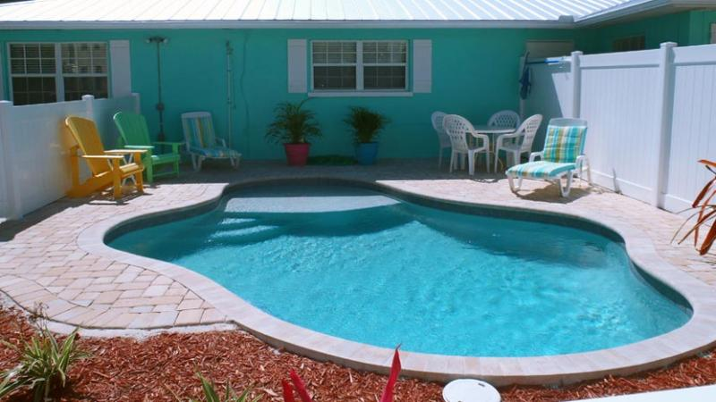 New Heated Pool! - Escape to Serenity B: 2BR/1BA Family- and Pet-Friendly Pool Home - Holmes Beach - rentals