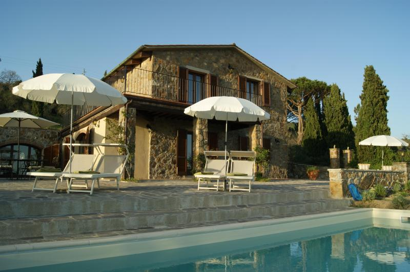 Guarda Mare - Villa Guarda Mare - Spectacular Pool with Sea View - Roccatederighi - rentals
