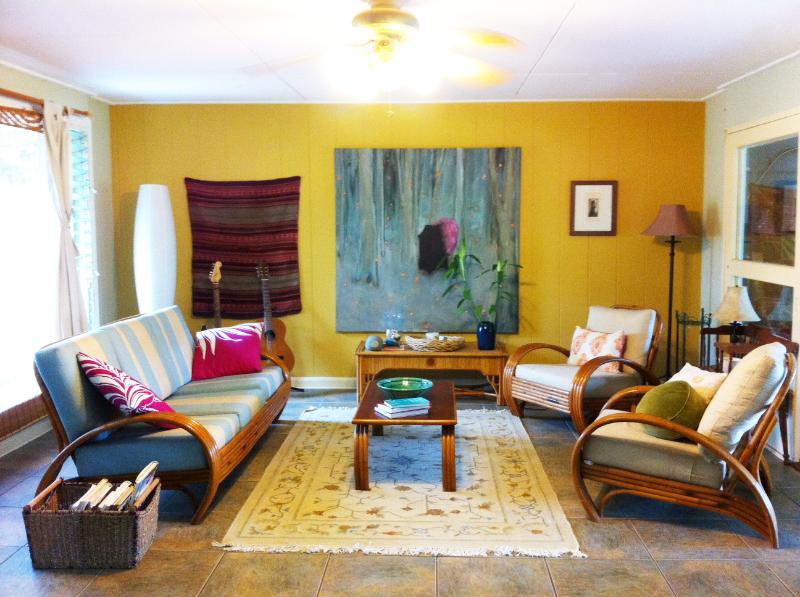 Front Room - Beautiful Lanikai Home - Kailua - rentals