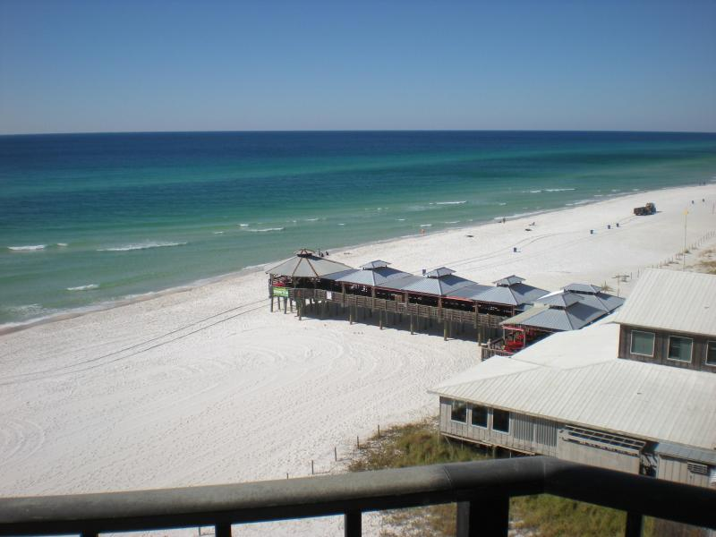 View west from balcony - Sunbird Condos - Gulf Front 8th Floor Amazing View - Panama City Beach - rentals