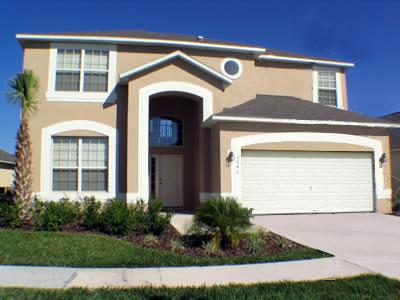 Front View  - 7 Bed/4 Bath On Emerald Island Resort! - Kissimmee - rentals