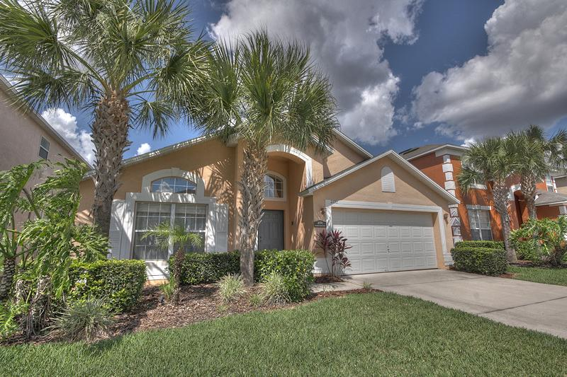 Front view  - Luxury 5 bed on Emerald Island! - Kissimmee - rentals