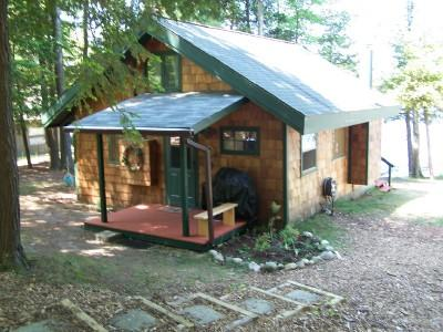 Front Of Cottage - Bass Lake Cottage, Jacuzzi, Free Wi-Fi, Boats - Traverse City - rentals