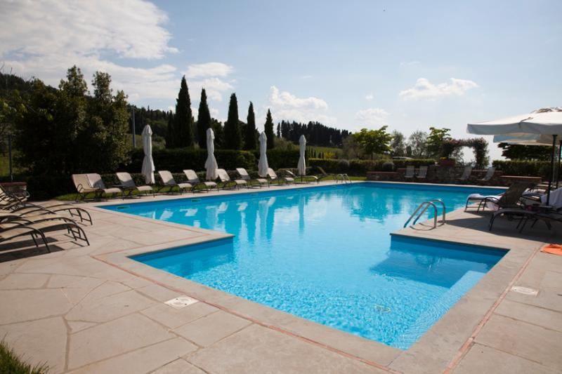 pool at main house - Tuscan country house rental - Pontassieve - rentals