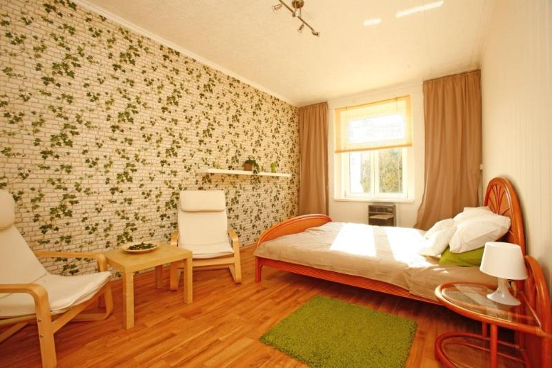 New renovated bedroom. With 3 comfy beds. - Cozy Apartement Near The Center - Prague - rentals
