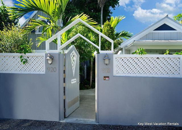 Private, Gated Entry To Compound of 'Abbey Road' - Abbey Road - Nightly Group Unit - Key West - rentals