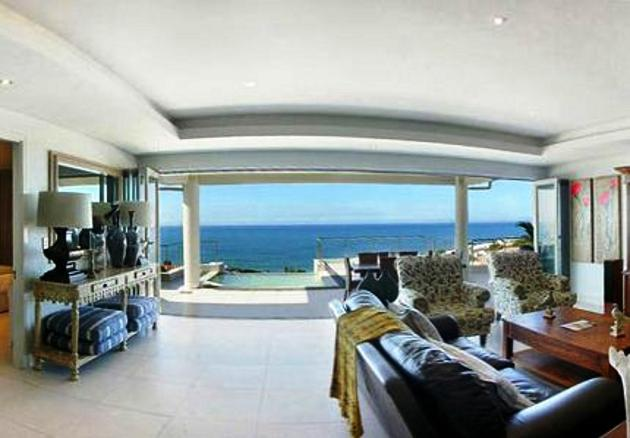 Open plan lounge overlooking the ocean - North Coast, Ballito, Simbithi s/c penthouse - Ballito - rentals
