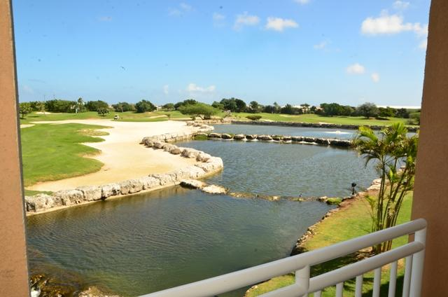 View from your balcony! - Divi Deluxe Golf Two-bedroom condo - DR39 - Oranjestad - rentals