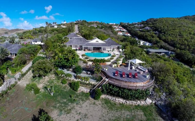 Papaye at Petit Cul de Sac, St. Barth - Ocean View, Very Private, Direct Access To Beach - Image 1 - Petit Cul de Sac - rentals