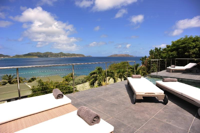 Mirande at Pointe Milou, St. Barth - Amazing Sunset View, Contemporary Style, Fitness Room - Image 1 - Pointe Milou - rentals