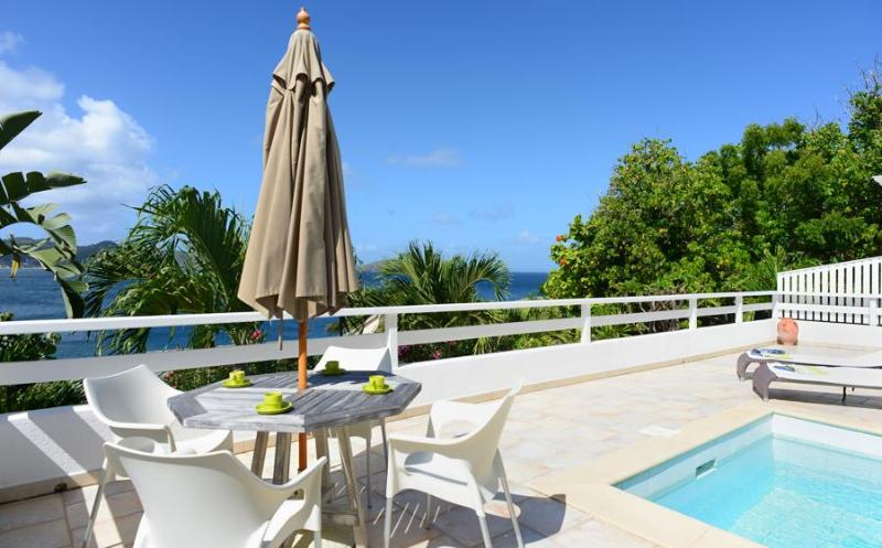 Papillon Blanc at Pointe Milou, St. Barth - Ocean View, Amazing Sunset Views, Close To Beach and Restaurant - Image 1 - Marigot - rentals