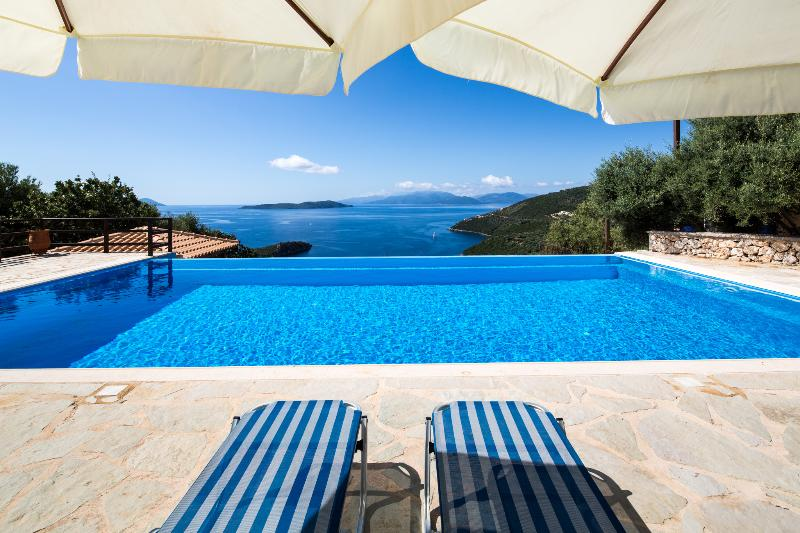 Villa Libra - Luxury villa with breathtaking view of the Ionian Sea - Image 1 - Sivota - rentals