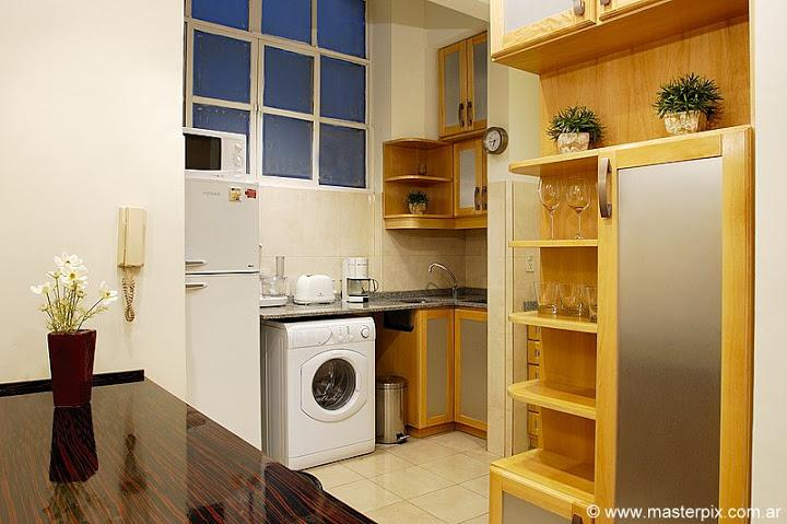 Kitchen  - 1 bedroom / 1.5 baths ( LR1 ) Recoleta - Buenos Aires - rentals
