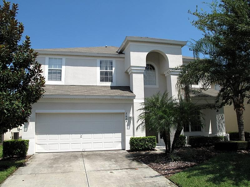 FRONT OF HOME - 6 bed home with peaceful lake view, Windsor Hills - Kissimmee - rentals