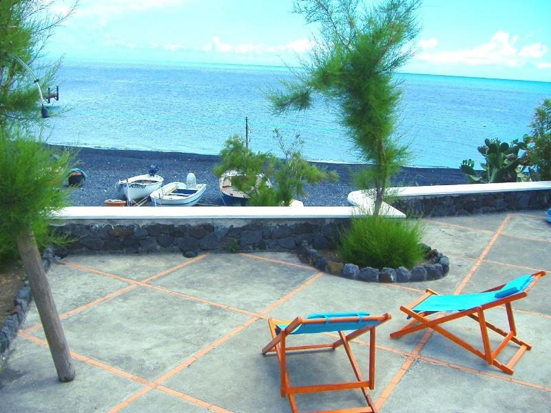BEAUTIFAUL HOUSE ON THE BLACK BEACH OF STROMBOLI - Image 1 - Stromboli - rentals