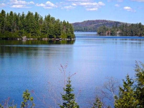 View of Upper Saranac Lake from the House - Camp Eastwood on Upper Saranac Lake - Lake Placid - rentals
