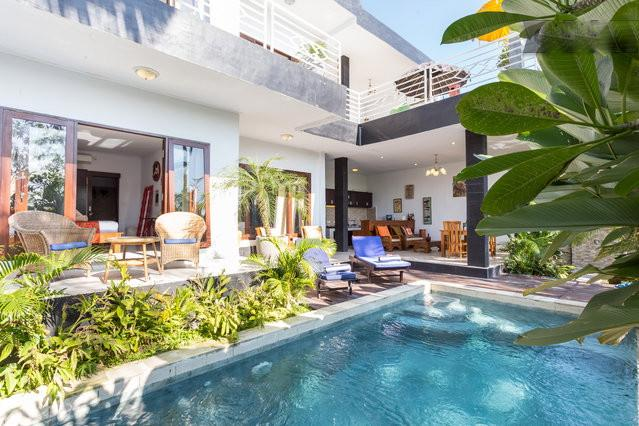 2 bedrooms with swimming pool view & 2 bedrooms with rice fields view - NEW 4 Br Villa / Pool and Ricefields view - Canggu/Umalas - Canggu - rentals