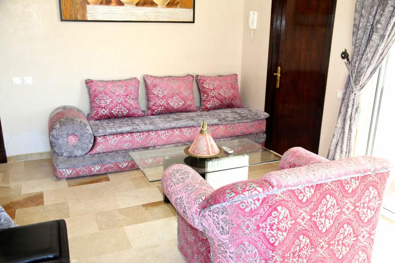 Salon - Living Room - Wohnzimmer - Romantique Suite  Apartment at  Marina Agadir - Agadir - rentals