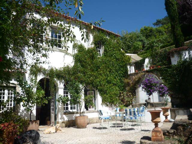 House and breakfast terrace - My Secret Garden - Colares - rentals