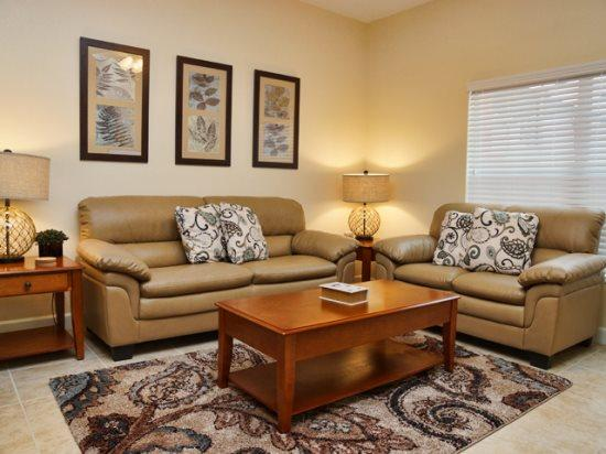 Living Area - PP4T8956MPR Lavish and Equipped Kissimmee Townhouse - Four Corners - rentals