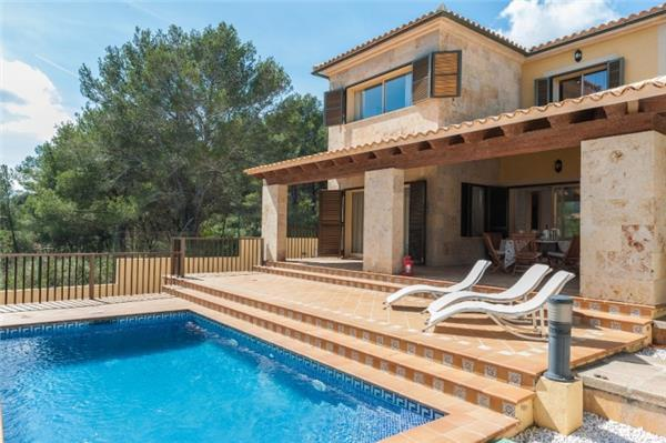 Holiday house for 7 persons, with swimming pool , in Capdepera - Image 1 - Capdepera - rentals