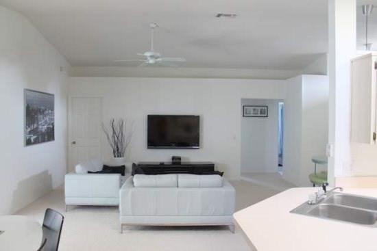 Living Area - WWC3P4707WD Spacious and Lovely Vacation Villa in Kissimmee - Kissimmee - rentals
