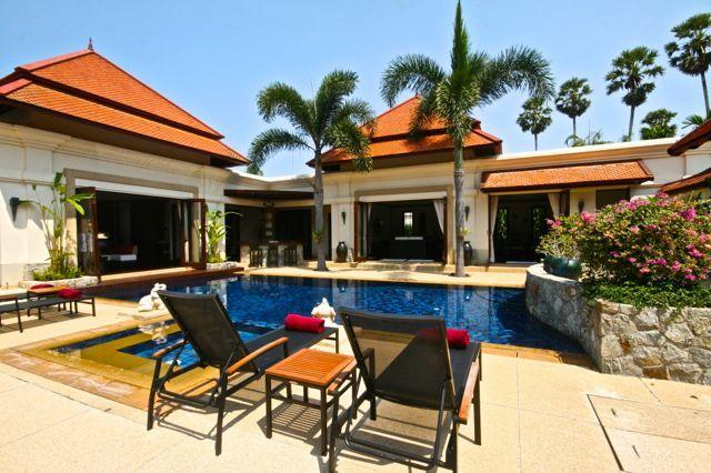 Thailand, Phuket, Laguna: Private 4 Bedroom Courtyard Villa near Laguna - Image 1 - Bang Tao Beach - rentals