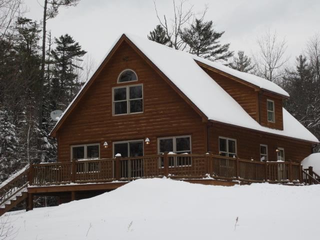 Spacious Log Sided Home Only 15 Minutes From Sunday River - Image 1 - Bethel - rentals