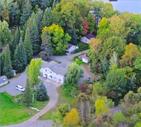SweetWater from the air - SweetWater Cabin #4A of Duplex - Cushing - rentals