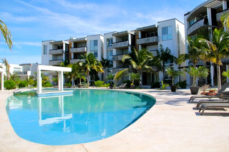 Pool view - Villas Wayak Incredible Apartment! - Telchac Puerto - rentals
