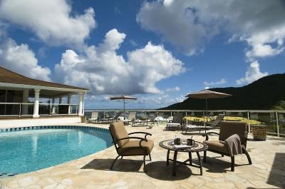 Contemporary 5 Bedroom Villa with View in Anse Marcel - Image 1 - Anse Marcel - rentals