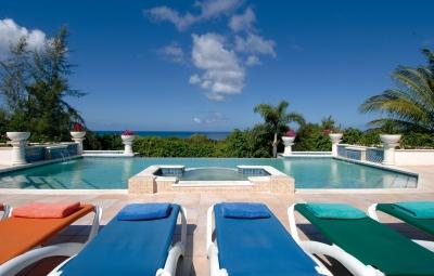 4 Bedroom Villa with Heated Pool & Spa in Terres Basses - Image 1 - Terres Basses - rentals
