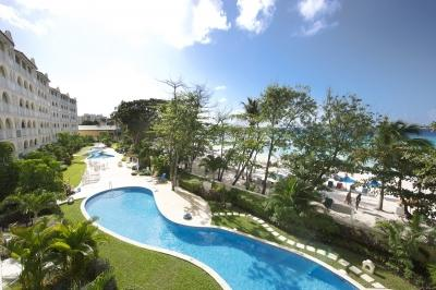 3 Bedroom Beachfront Condo in Christ Church - Image 1 - Christ Church - rentals