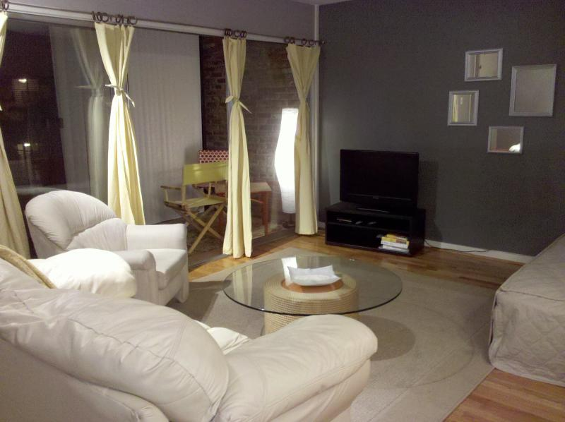Living Room with enclosed Patio - Cherokee Rd Condo #1 - Louisville - rentals