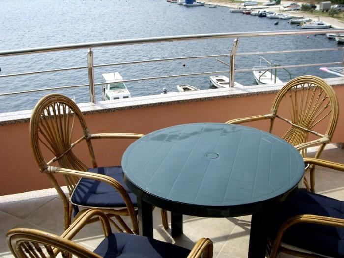 Balcony sea view - Apartment Stipe-Poljica Marina - Marina - rentals