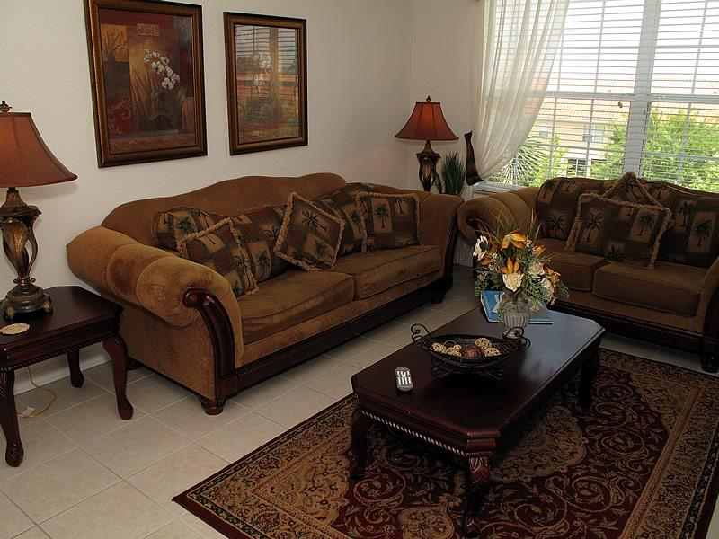 Living area  - Lovely 3 bed home on Windsor Hills Resort - Kissimmee - rentals