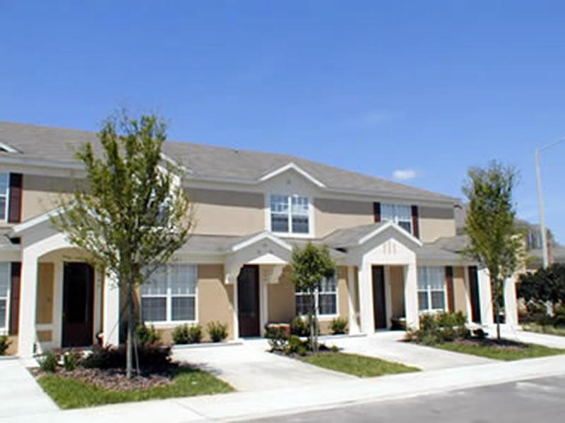 front of home - 3 bed townhouse with internet access. - Kissimmee - rentals