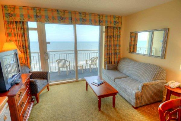 Living Area - Holiday Sands -  905 - Myrtle Beach - rentals