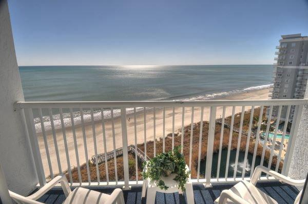 Balcony View - Sea Watch N. - 1206 - Myrtle Beach - rentals