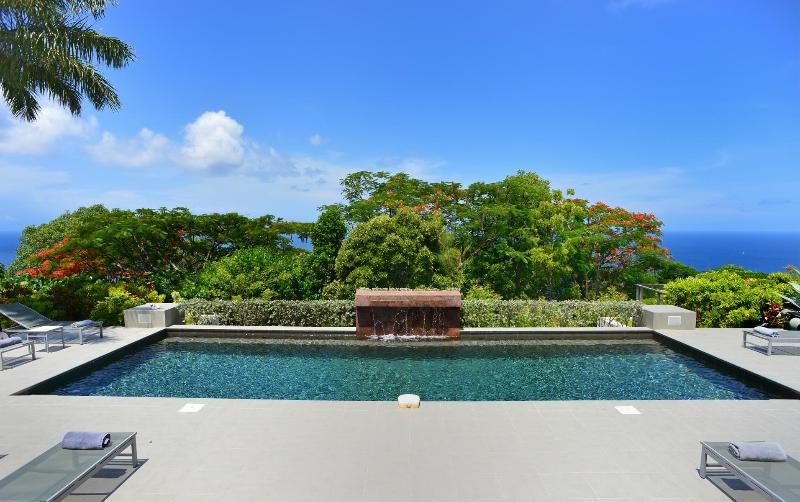 Cozy 4 Bedroom Villa with Private Terrace in Colombier - Image 1 - Anse des Flamands - rentals