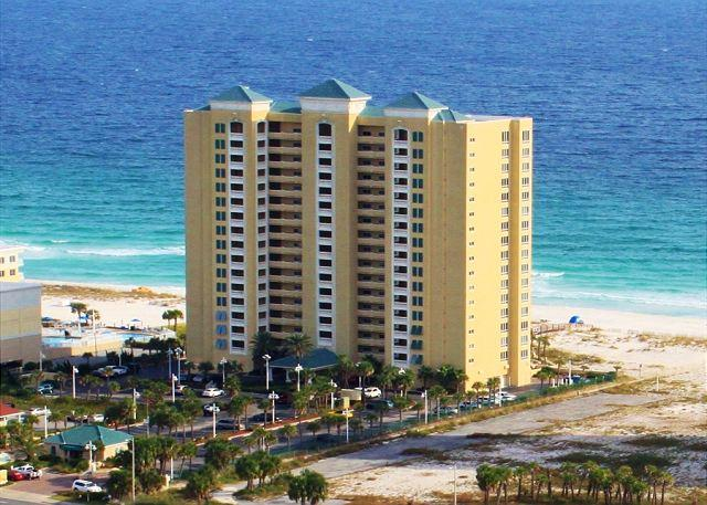 This Gulf front condominium offers swimming pools, hot tub, fitness center and beach access. - Emerald Isle #206 - Pensacola Beach - rentals