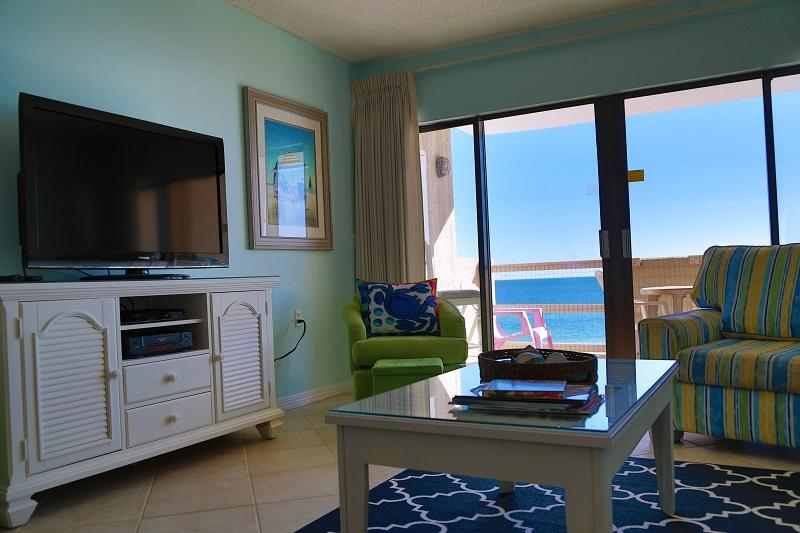 Living Room - Tropical Winds 304 - Gulf Shores - rentals
