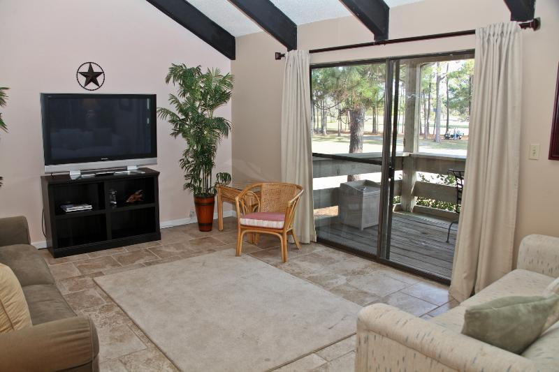 Living Room w/two sleeper sofas - Seascape, 30-C Golf Villas - Miramar Beach - rentals