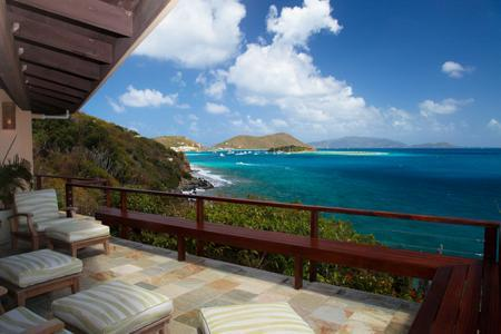 Spectacular views and the ultimate waterfront hideaway! - Elegant Waterfront Villa on Private Great Camanoe Island with Boat - British Virgin Islands - rentals