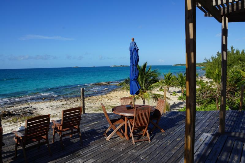 Breathtaking Caribbean view off the deck - Luxury house on laid back Eleuthera - South Palmetto Point - rentals